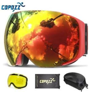 COPOZZ Magnetic Ski Goggles with Quick-change Lens  ( We pay shipping !)