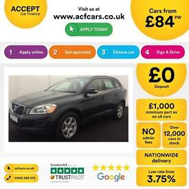 VOLVO XC60 2.4 D4 AWD R DESIGN LUX  2.0 SE 2WD G/T FROM £84 PER WEEK!