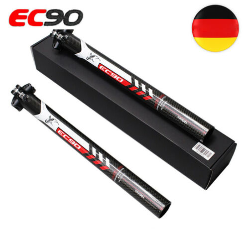 3K Kohlefaser Fahrrad Sattelstütze MTB Rennrad Sattelstange 27.2/30.8/31.6mm