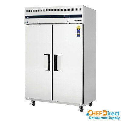 Everest Esf2 49 Two Door Reach-in Freezer
