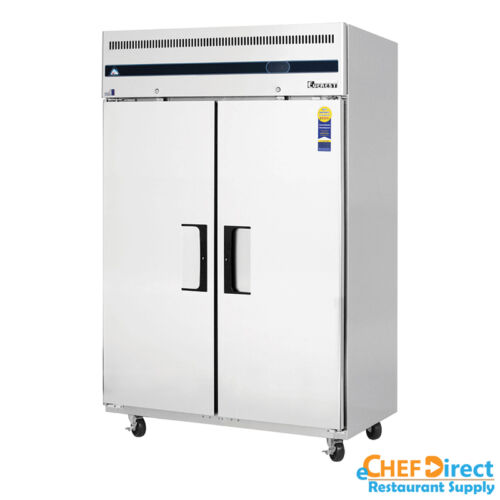 "Everest Esf2 49"" Two Door Reach-in Freezer"