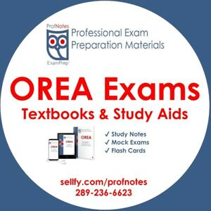 ☝ OREA Courses ☝ All Phases $15 Exam Prep  North York gta​