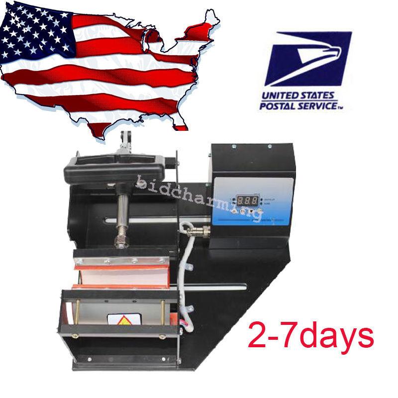 Dual double station Digital Display Mug Heat Press Transfer Sublimation Machine