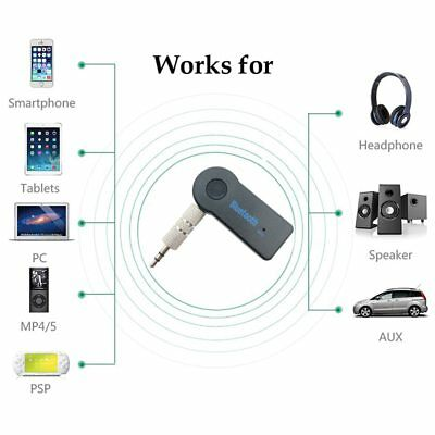 AUX Mini receptor de Audio Bluetooth transmisor 3,5mm Jack manos libres Auto