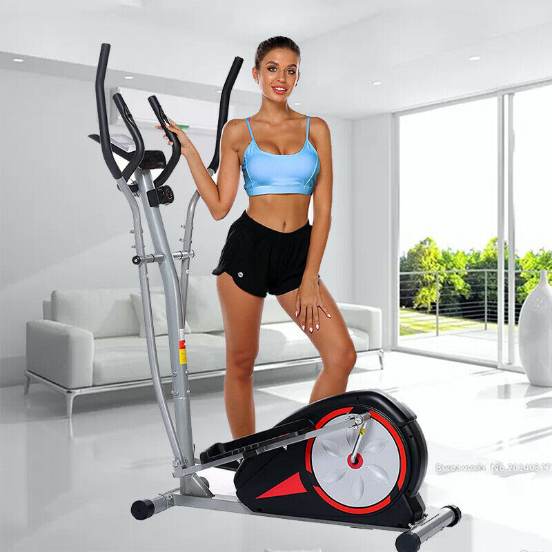 Magnetic Elliptical Machine Mute Exercise Fitness Trainer 35