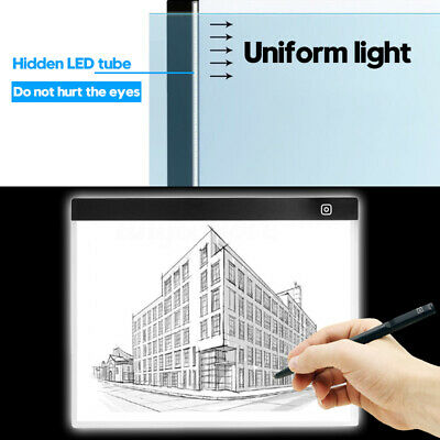 Eye-Protection A3 LED Light Pad Box Drawing let Tracing Tracer Copy Board  USA