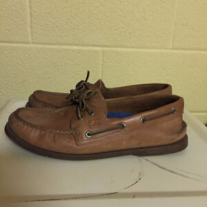 Sperry - Tan Leather, lightly used Kitchener / Waterloo Kitchener Area image 4