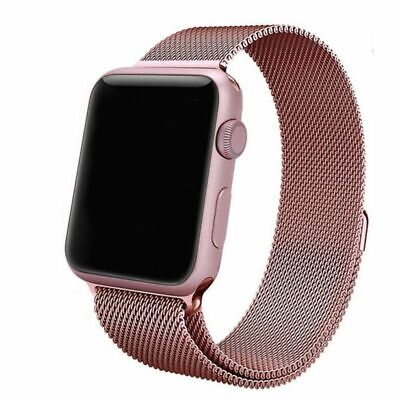 Apple Watch Series 1 38mm Aluminium Case,  with  Milanese Loop Strap - Rose Gold