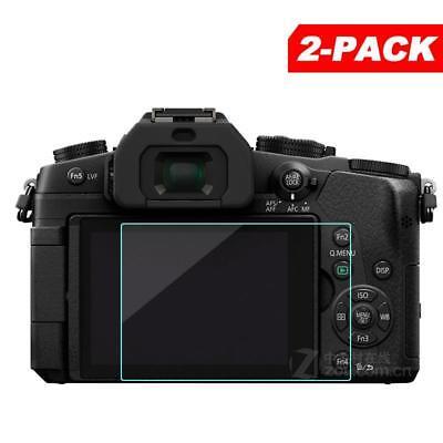 2x Tempered Glass Screen Protector for Panasonic Lumix G80 G85 Digital Camera