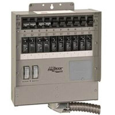 10 Circ Gen Ac Transfer Switch Single Partno 510f6 By Reliance Controls Corp
