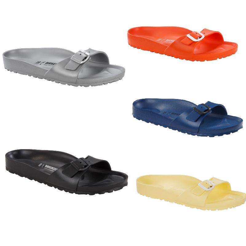 Birkenstock Madrid EVA Badeschuhe Strandschuhe Metallic Sommerschuhe Sandale
