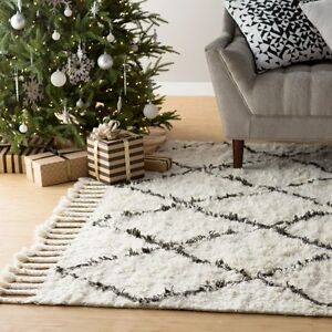 Brand New Wool / Cotton Area Rugs New Syles 40-75% OFF