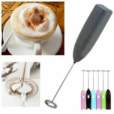 Eléctrico Batidor Manual Cocina Hogar Mini Espumador de Leche Bebida Café