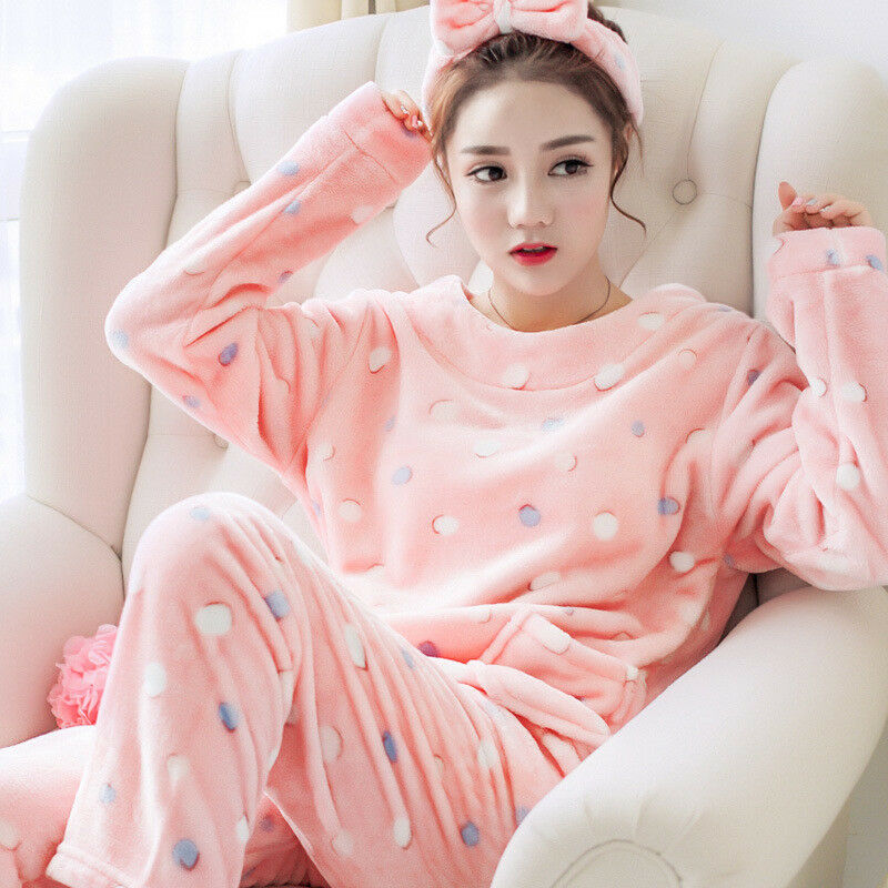 Color : Purple, Size : XXXL Pajamas Flannel Home Service Set Thick Coral Velvet Pajamas Autumn and Winter Mens Pajamas Novelty /& More