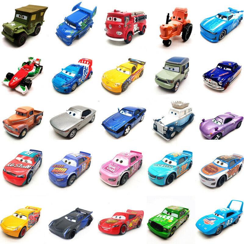 как выглядит Disney Pixar Cars Lightning McQueen Racers Lot Choose 1:55 Diecast Toy Loose New фото