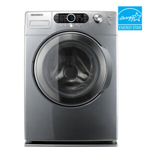 Laveuse frontale Samsung grise - Washing machine