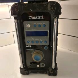 Makita DAB site radio.