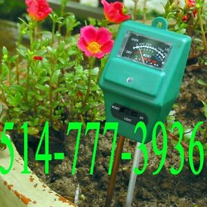 PH Tester Soil Water Moisture Light Test Meter for Garden Plant