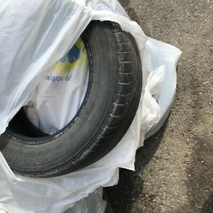 Used tires ( size in pictures)