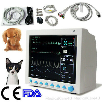 Veterinary Icu Vital Signs Patient Monitor6 Parameterscontec Cms8000vetcefda