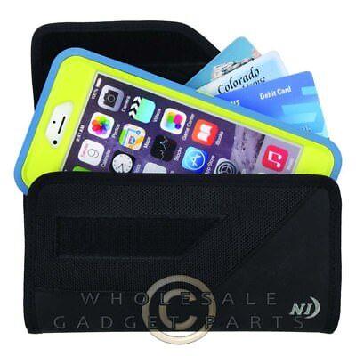 Nite Ize Clip Case Sideways Phone Holster XXL - Black - Holster Nite Ize Clip Case