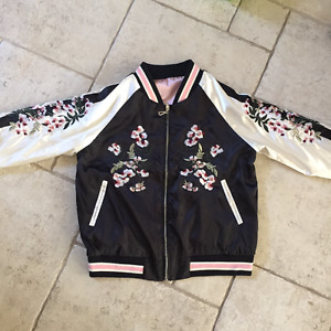 Reversible Embroidered Jacket Size S