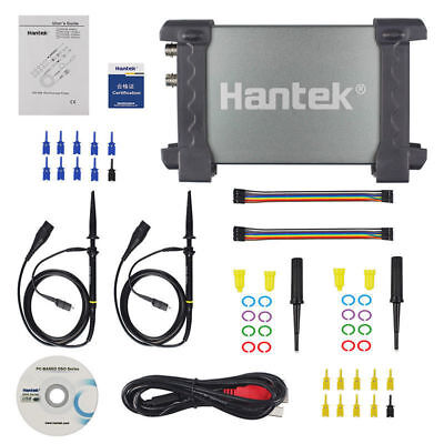 Hantek 6022bl Pc Digital Oscilloscope Based Usb Logic Analyzer 16 Chs 48msas