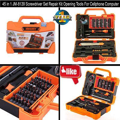 45 In 1 Jm 8139 Screwdriver Set Repair Kit Opening Tools For Phone Computer Bp