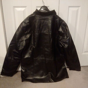 Emporio Armani Classic Leather Jacket -New / Never Worn /Replica Cambridge Kitchener Area image 5
