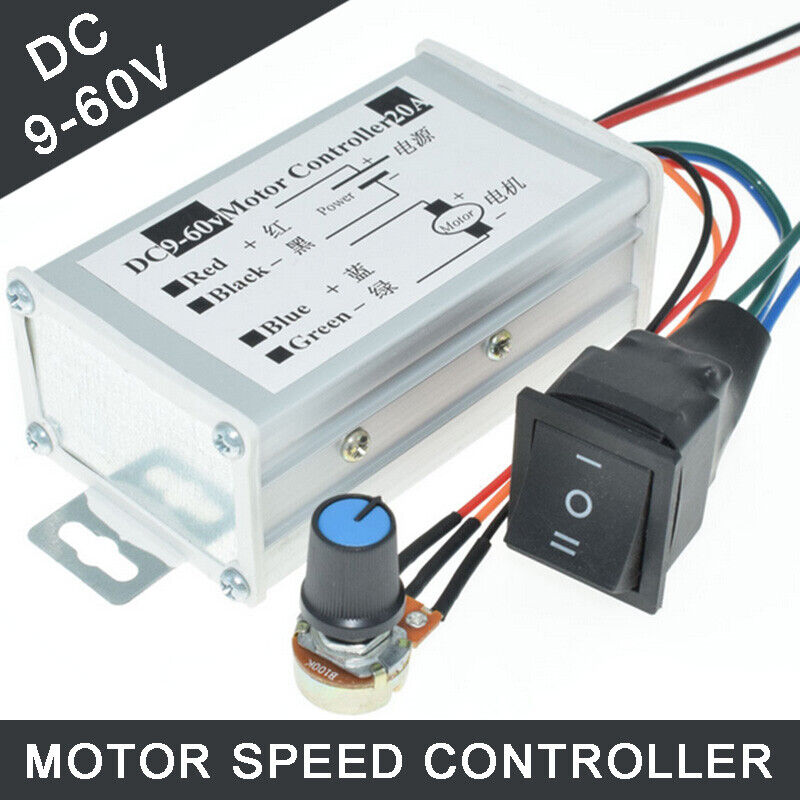 Broadroot 400W AC 220V Motor Drehzahlregler Pinpoint Regler Controller vorw FG#1