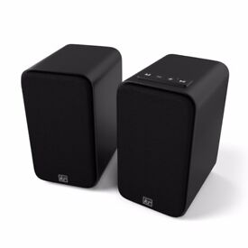 Kitsound Accomplice Wireless powered Bookshelf Speakers - as new