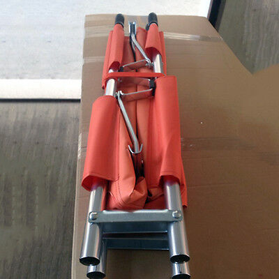 Medical First Aid Patient Bed Stretcher Rescue Ambulance Foldable Aluminum Vst