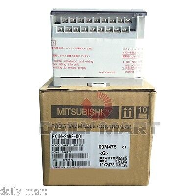 Mitsubishi Melsec Plc Fx1n-24mr-001 Fx1n24mr001 Original New In Box Free Ship