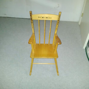 Wood Child's Rocking Chair London Ontario image 1