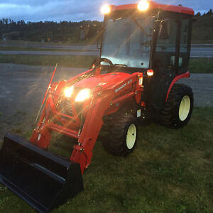 Branson 24HP 4x4 with Factory cab & loader only $123.32 Biweekly