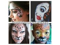 ****£35 per hour PROFESSIONAL, RELIABLE FACE PAINTER FACE PAINTING****