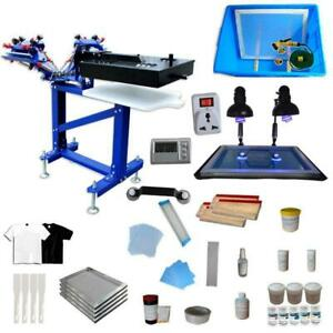 Micro-registration Silk Screen Printing Kit with Rotary Rotary & Exposure Unit 006896 Item number 006896
