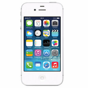 iphone 4s white or black 16gb , no scratch like new 514-295-739