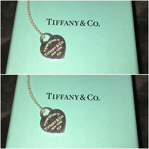 Tiffany & Co. Classic Heart Necklace