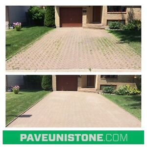 HIGH PRESSURE CLEANING OF DRIVEWAYS & UNISTONE & CONCRETE West Island Greater Montréal image 8