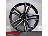 "19"" 2017 GTD STYLE ALLOY WHEELS AND TYRES (5X112) Suit A3,VW MK5,6,7 Golf, Jetta, Passat, Seat"