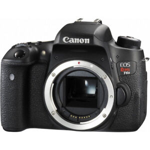 Like New Canon Rebel T6s DSLR Camera (newest crop sensor)