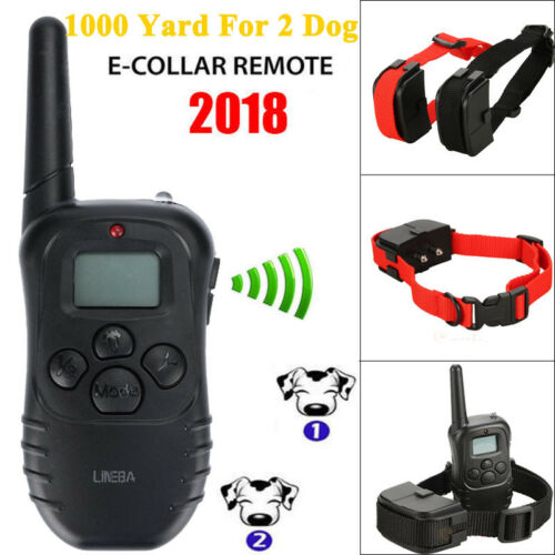 Dog Shock Collar With Remote Waterproof for Large Small 1000