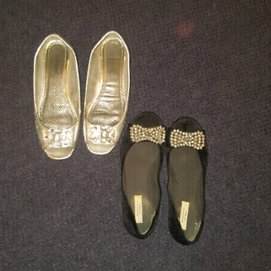 Used Flats shoes