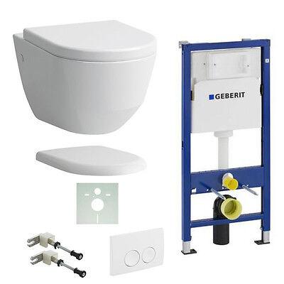 LAUFEN PRO SPÜLRANDLOS WC 820966 COMPACT 820965 + WC-SITZ SOFTCLOSE CLEAN-COAT