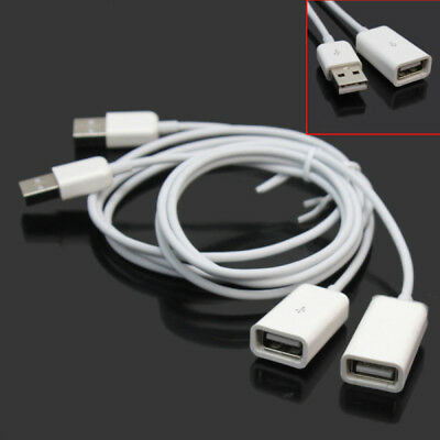 2 Pack USB 2.0 Active Repeater Male To Female Extension Cable Extender Cord US