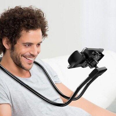 - Universal Lazy Hanging Neck Phone Mount Necklace Support Bracket Holder Stand AU