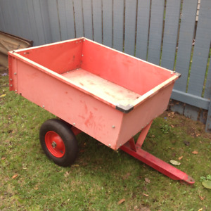 Atv or snowmobile pull behind trailer
