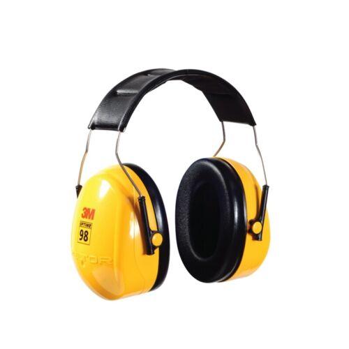 3M Peltor Optime 98 Over the Head Earmuff,