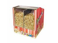 High Quality Stainless steel Electric Popcorn Food Warmer Showcase Chip Display Warming Cabinet
